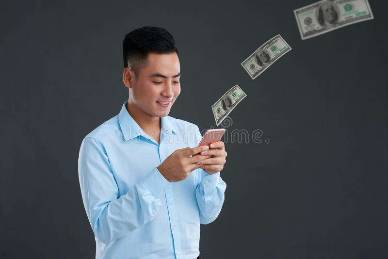 Μεταφορά των χρημάτων στοκ φωτογραφία με δικαίωμα ελεύθερης χρήσης