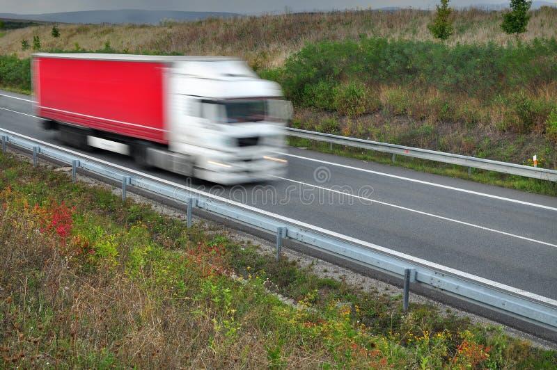 Μεταφορά φορτηγών Lkw στοκ φωτογραφία με δικαίωμα ελεύθερης χρήσης