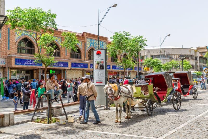 Μεταφορές αγοράς της Τεχεράνης στοκ εικόνα με δικαίωμα ελεύθερης χρήσης