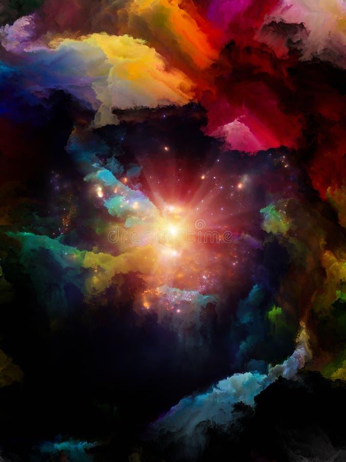 Μεταφορικό διάστημα χρώματος απεικόνιση αποθεμάτων