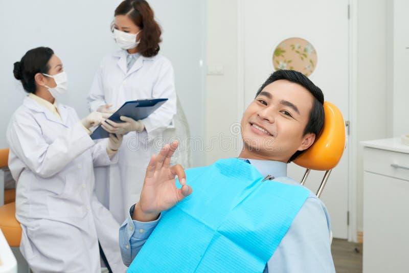 Μεταχείρηση των δοντιών στοκ φωτογραφία με δικαίωμα ελεύθερης χρήσης