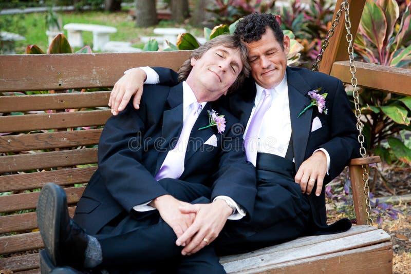 Μετα γαμήλιο NAP στοκ φωτογραφίες