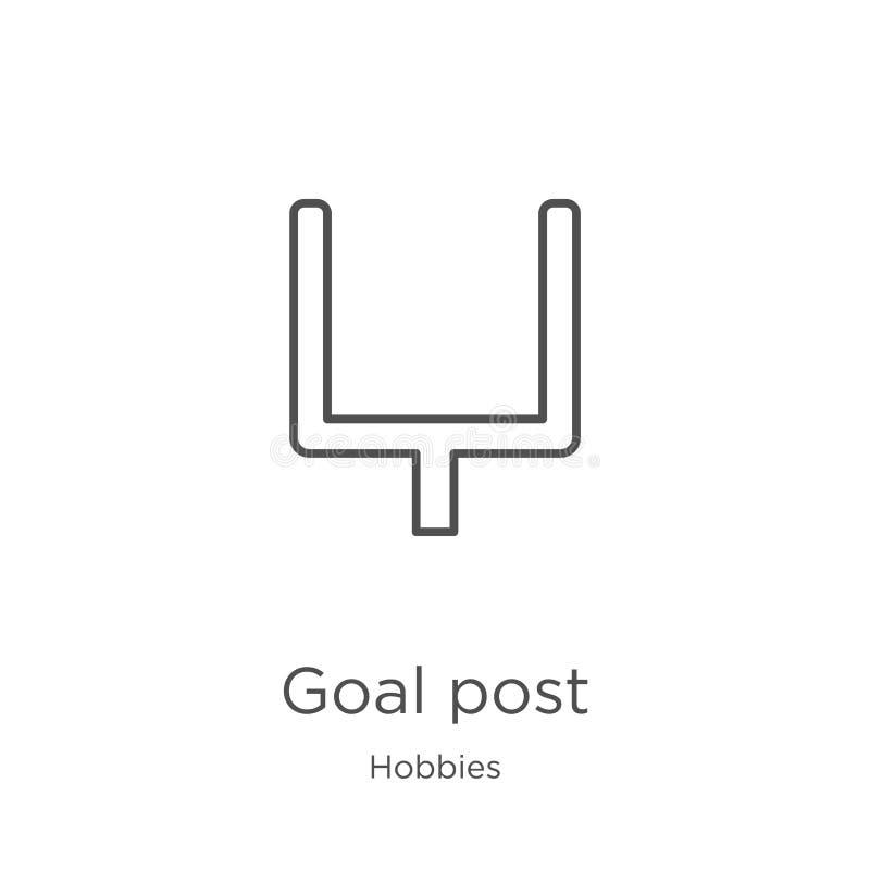 μετα διάνυσμα εικονιδίων στόχου από τη συλλογή χόμπι Λεπτή γραμμών διανυσματική απεικόνιση εικονιδίων περιλήψεων στόχου μετα Περί απεικόνιση αποθεμάτων