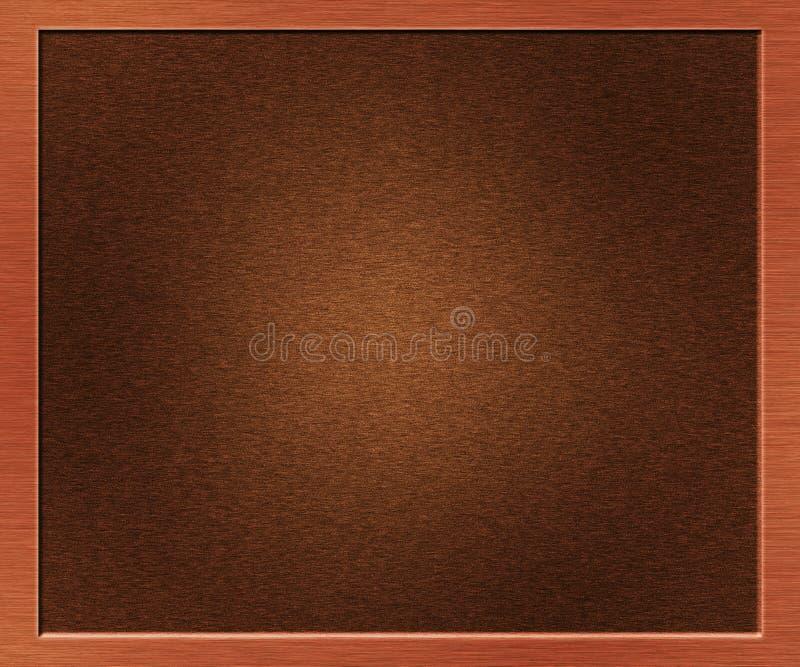 Μεταλλικό βουρτσισμένο σύσταση μέταλλο χαλκού στοκ φωτογραφία με δικαίωμα ελεύθερης χρήσης