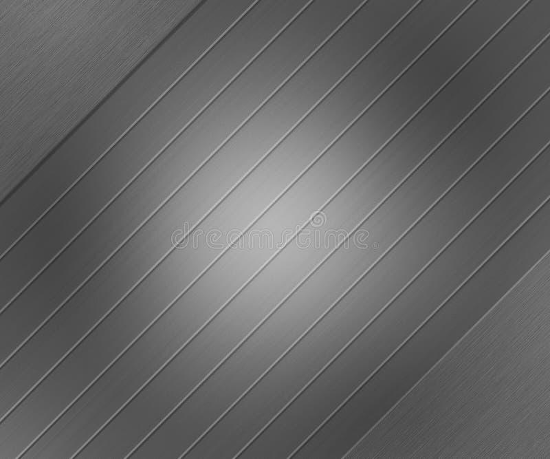 Μεταλλικό βουρτσισμένο σύσταση μέταλλο στοκ φωτογραφία με δικαίωμα ελεύθερης χρήσης