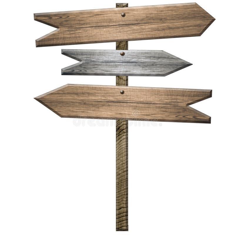 μετα σημάδι ξύλινο απεικόνιση αποθεμάτων