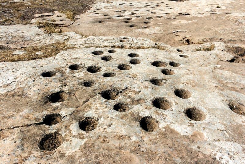 Μετα τρύπες Tepe Gobekli στοκ φωτογραφία με δικαίωμα ελεύθερης χρήσης