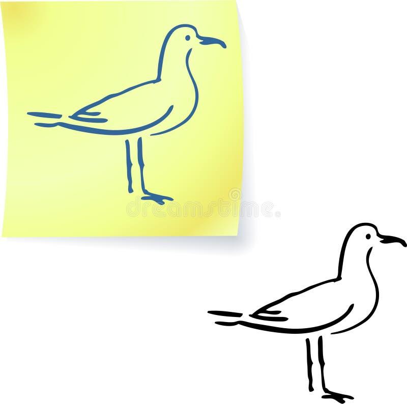 μετα seagull σημειώσεων ελεύθερη απεικόνιση δικαιώματος