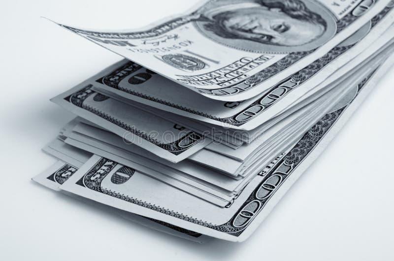 Μετρητά Αμερικάνικη ασπρόμαυρη φωτογραφία στοκ φωτογραφία