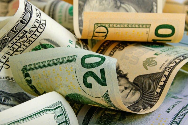 Μετρητά δολάρια ΗΠΑ στοκ εικόνες