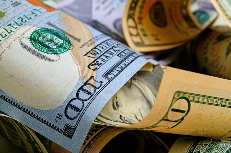 Μετρητά δολάρια ΗΠΑ στοκ φωτογραφία