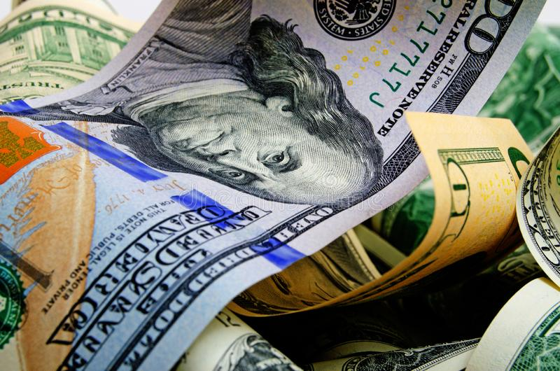 Μετρητά δολάρια ΗΠΑ στοκ εικόνα με δικαίωμα ελεύθερης χρήσης