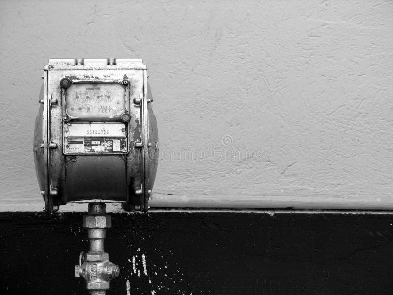 μετρητής αερίου Στοκ Εικόνα