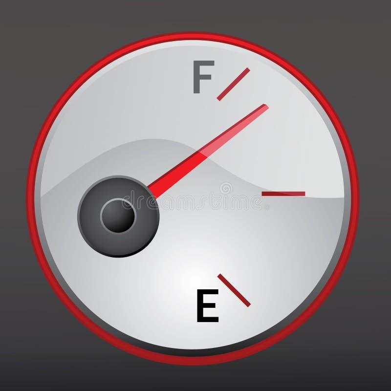 μετρητής αερίου στοκ φωτογραφία