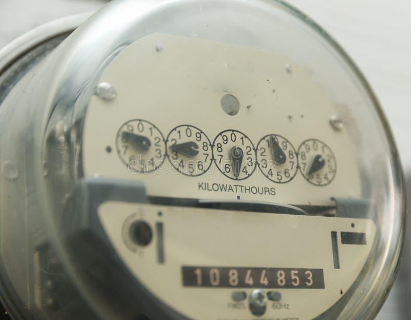 Μετρητής ηλεκτρικής χρησιμότητας στοκ φωτογραφίες με δικαίωμα ελεύθερης χρήσης