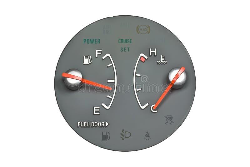 Download μετρητής καυσίμων στοκ εικόνες. εικόνα από απομονωμένος - 13188564