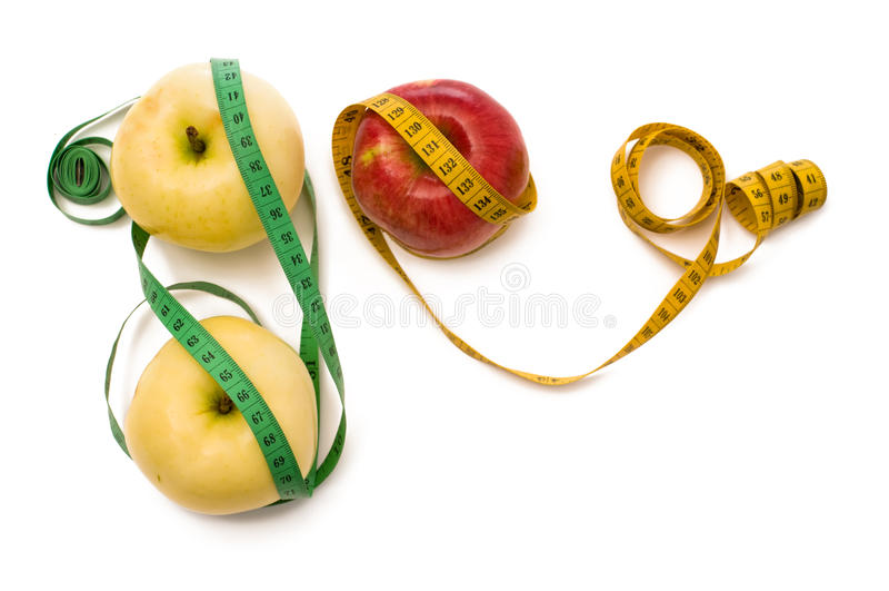 μετρητής μήλων στοκ εικόνα με δικαίωμα ελεύθερης χρήσης