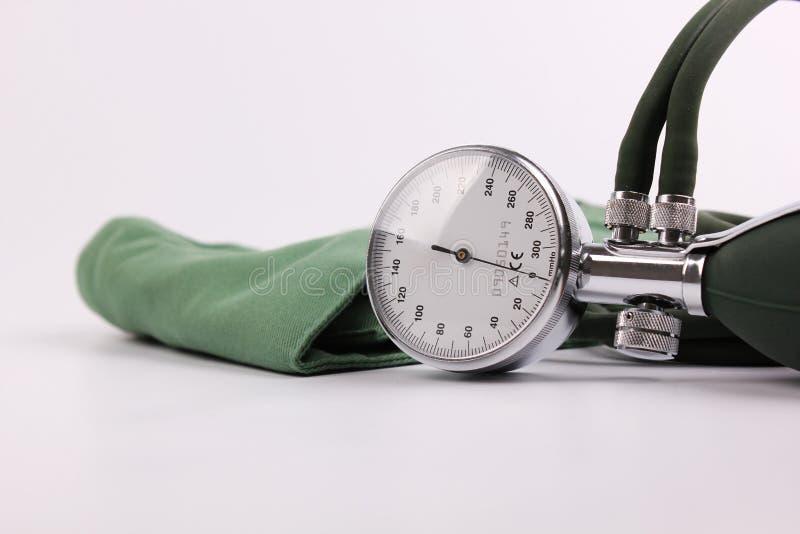 Μετρητής πίεσης του αίματος στοκ εικόνες