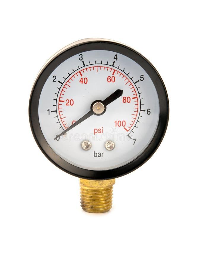 Μετρητής πίεσης στοκ εικόνα με δικαίωμα ελεύθερης χρήσης