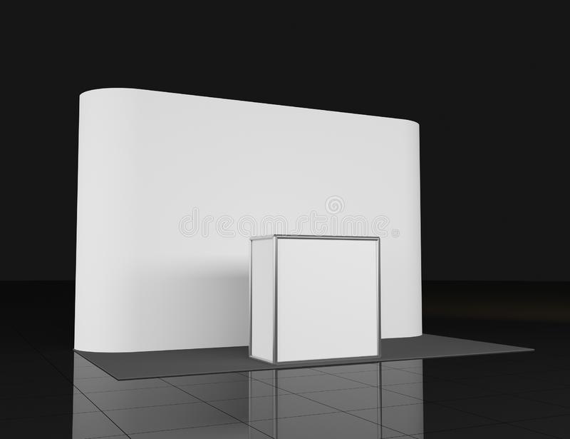 Μετρητής προώθησης Στάση λιανικού εμπορίου που απομονώνεται στο άσπρο υπόβαθρο Πρότυπο προτύπων για το σχέδιό σας backfill απεικόνιση αποθεμάτων