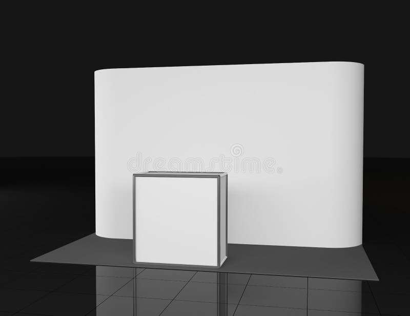 Μετρητής προώθησης Στάση λιανικού εμπορίου που απομονώνεται στο άσπρο υπόβαθρο Πρότυπο προτύπων για το σχέδιό σας backfill ελεύθερη απεικόνιση δικαιώματος