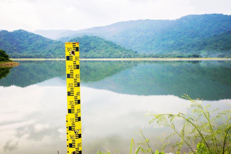 Μετρητής σταθμών ύδατος στοκ φωτογραφία