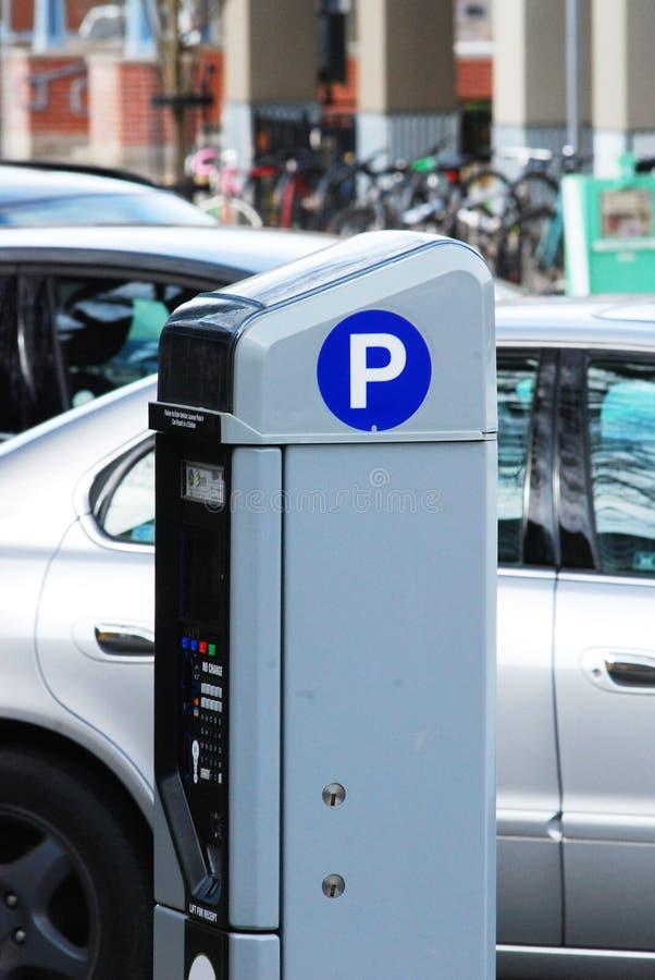 Μετρητής χώρων στάθμευσης στο Eugene Όρεγκον στοκ εικόνες