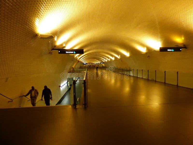 Μετρό της Λισσαβώνας στοκ εικόνα