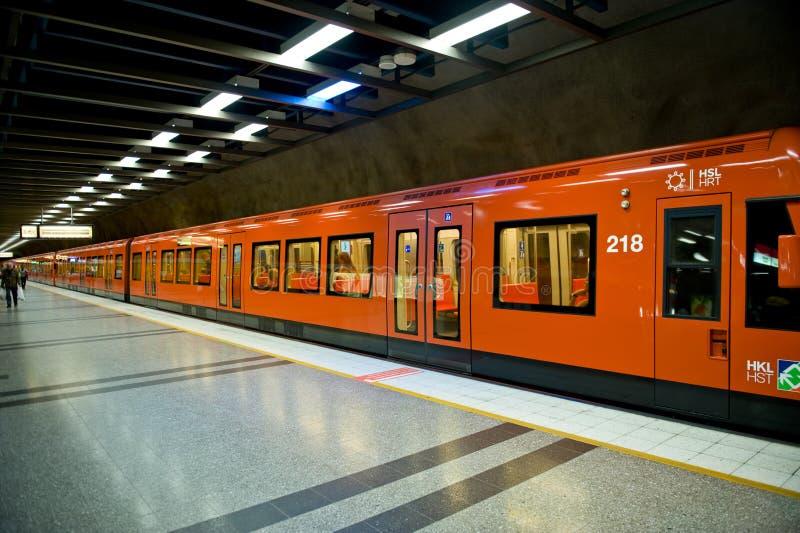 μετρό του Ελσίνκι στοκ εικόνες με δικαίωμα ελεύθερης χρήσης