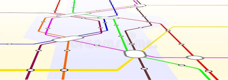 μετρό διανυσματική απεικόνιση