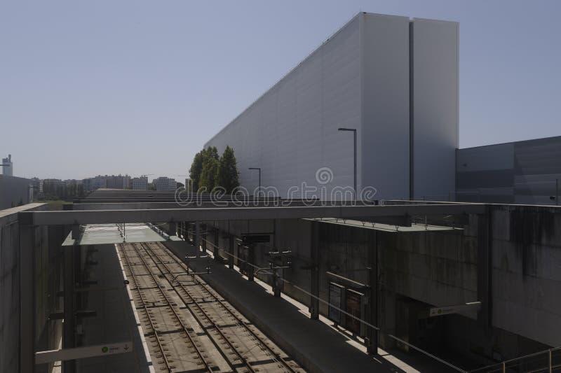 Μετρό Maia Portugal στοκ εικόνες με δικαίωμα ελεύθερης χρήσης