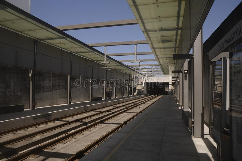Μετρό Maia Portugal στοκ εικόνα