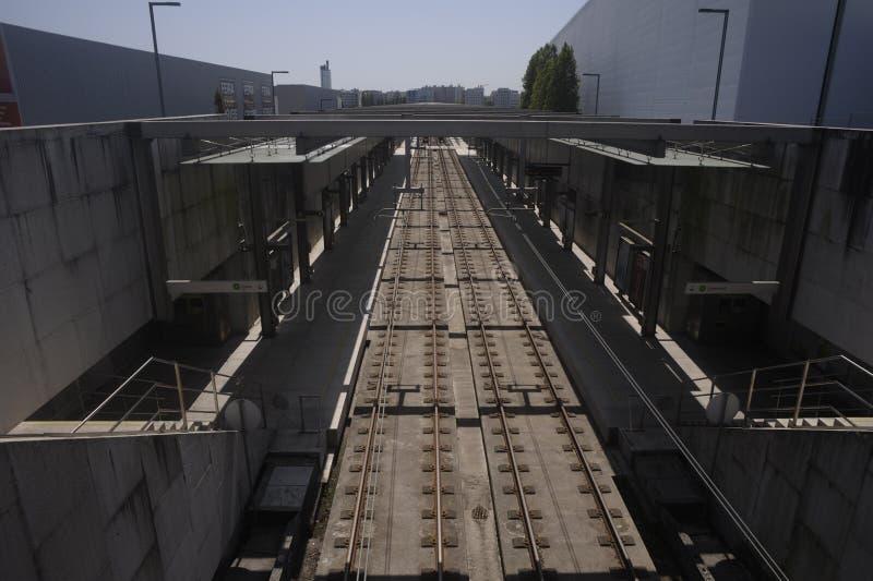 Μετρό Maia Portugal στοκ φωτογραφία με δικαίωμα ελεύθερης χρήσης