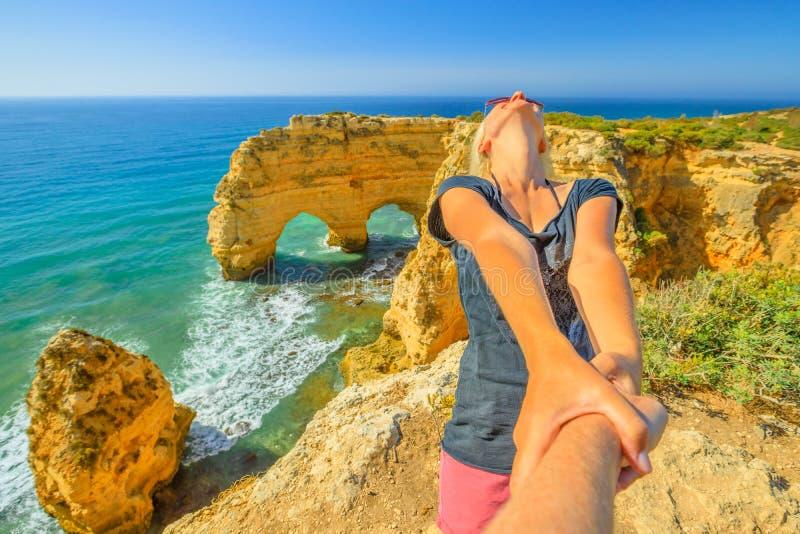 Με ακολουθήστε στην Πορτογαλία στοκ φωτογραφία με δικαίωμα ελεύθερης χρήσης