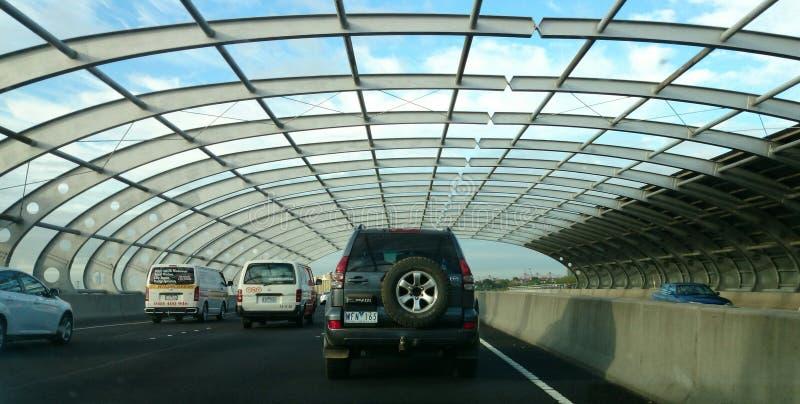 Μελβούρνη, αυτοκινητόδρομος στοκ εικόνα με δικαίωμα ελεύθερης χρήσης