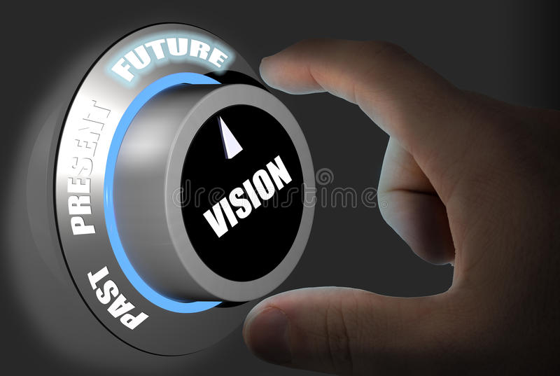 Μελλοντική πρόβλεψη ελεύθερη απεικόνιση δικαιώματος