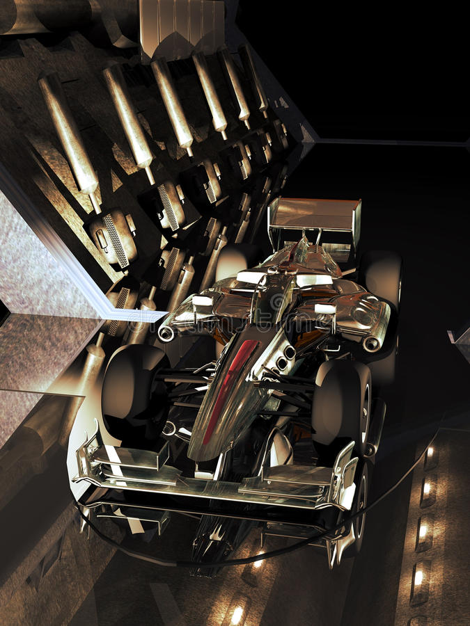 Μελλοντική Formula 1 απεικόνιση αποθεμάτων