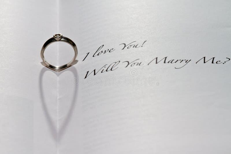 με παντρεψτε δαχτυλίδι &epsil στοκ εικόνα με δικαίωμα ελεύθερης χρήσης