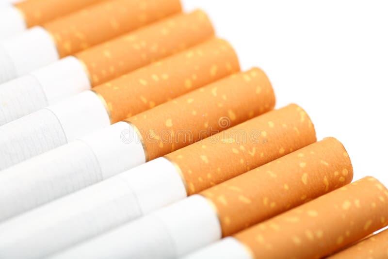 Με φίλτρο τσιγάρα στοκ εικόνα