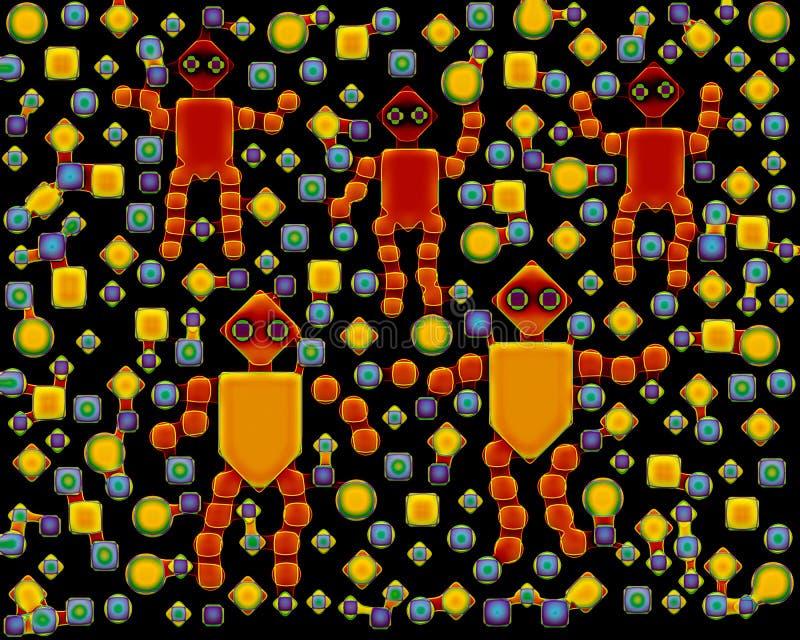 Μελόψωμο Αριανοί διανυσματική απεικόνιση