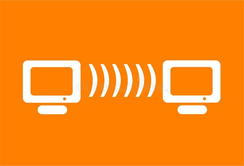 μηνύτορας Διαδικτύου υπ&om διανυσματική απεικόνιση