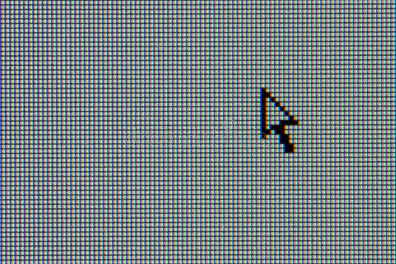 μηνύτορας δρομέων LCD υπολο στοκ εικόνα με δικαίωμα ελεύθερης χρήσης
