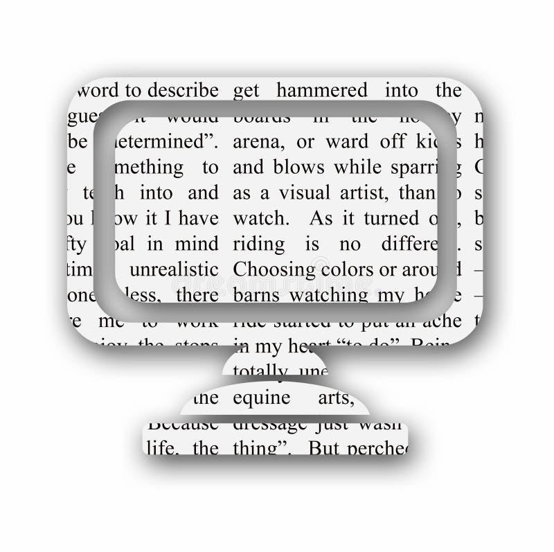Download μηνύτορας εικονιδίων υπ&omicro Απεικόνιση αποθεμάτων - εικονογραφία από απεικόνιση, υπολογιστής: 2228406