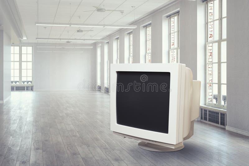 μηνύτορας υπολογιστών πα Μικτά μέσα στοκ φωτογραφία