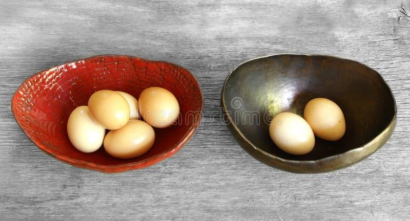 Μην βάλτε όλα τα αυγά σε μια παροιμία καλαθιών στοκ φωτογραφίες με δικαίωμα ελεύθερης χρήσης