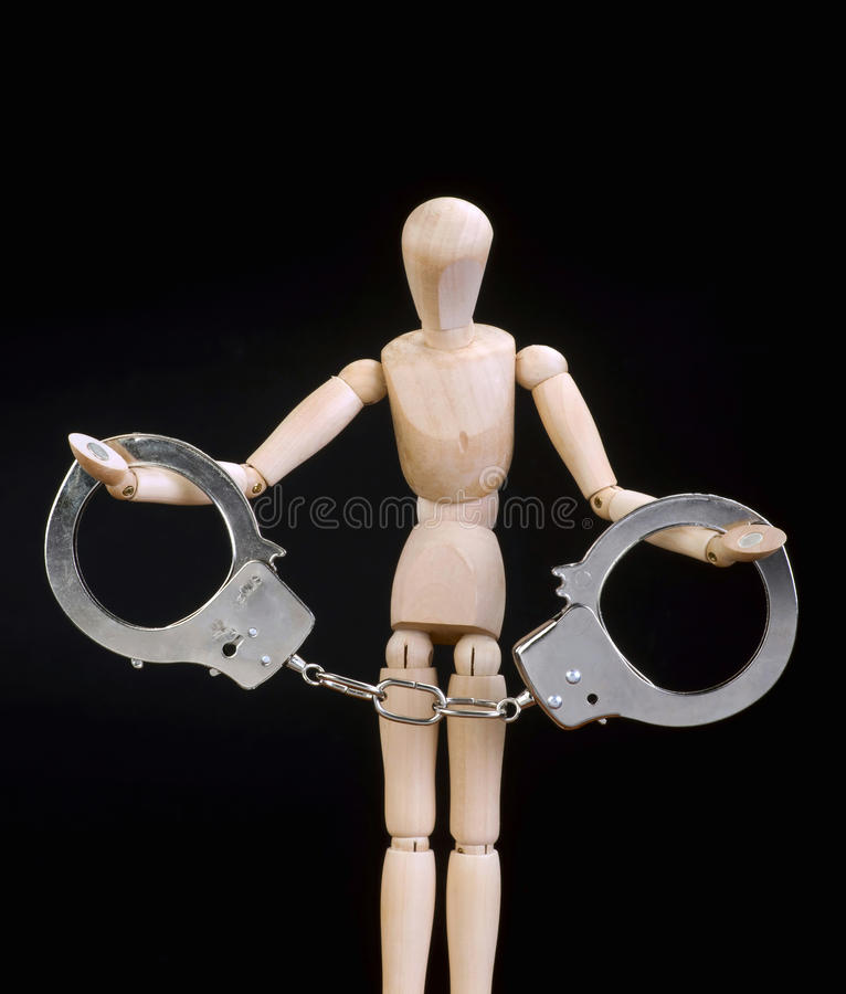 Μην κάνετε το έγκλημα στοκ φωτογραφίες με δικαίωμα ελεύθερης χρήσης