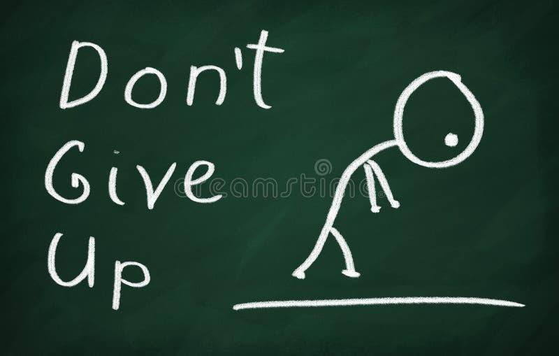 Μην σταματήστε στοκ εικόνα με δικαίωμα ελεύθερης χρήσης