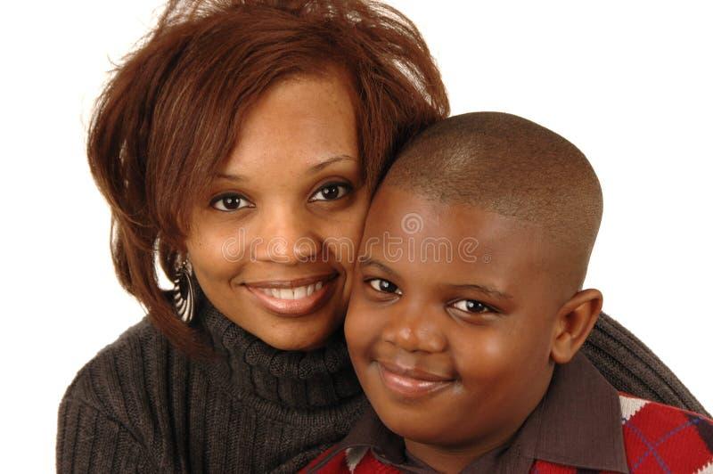 μητέρα αφροαμερικάνων στοκ φωτογραφία με δικαίωμα ελεύθερης χρήσης