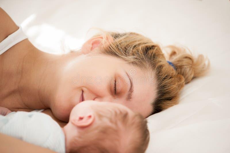 Μητέρα και γιος στοκ φωτογραφία