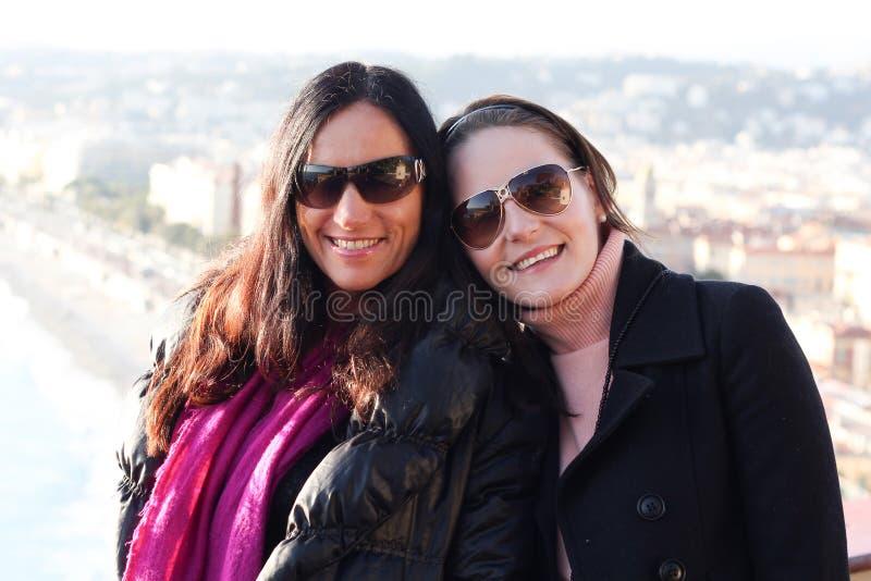 Μητέρα και κόρη από κοινού στοκ εικόνα